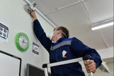 Свердловские площадки для сдачи ЕГЭ готовят к приему выпускников (фото)