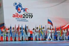 В Екатеринбурге состоялось торжественное открытие мирового боксерского первенства (фото)