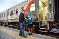 Урал и Крым вновь связало железнодорожное сообщение (фото)