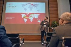 Уральские бизнес-инновации презентовали генконсулам 12 государств (фото)