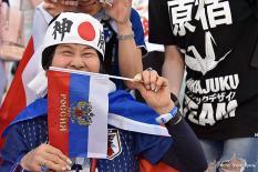 Екатеринбург принял матч Японии и Сенегала (фото)