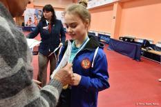 Теннисисты из Екатеринбурга выиграли первенство области по настольному теннису среди юниоров (фото)