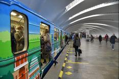 30-летие уральской подземки отметили уникальным брендированным составом (фото)