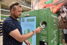 В Екатеринбурге появились фандоматы для приема пластиковой, стеклянной и алюминиевой тары (фото)