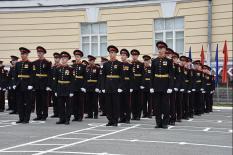В Екатеринбургском Суворовском военном училище отметили День знаний (фото)