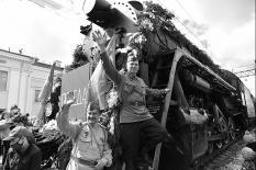 На Средний Урал прибыл исторический эшелон Победы (фото)