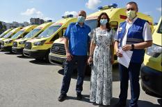 Свердловские медики получили 28 новых реанимобилей (фото)