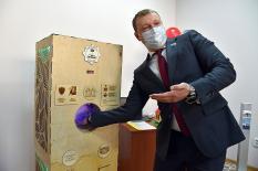 Юные изобретатели получили 100 тыс. рублей за многофункциональный санитайзер (фото)