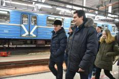 Высокинский провел выездное совещание в екатеринбургской подземке (фото)