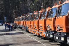 В Екатеринбурге прошел «парад коммунальной техники» (фото)