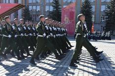 Как прошла генеральная репетиция Парада Победы в Екатеринбурге: фоторепортаж
