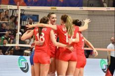 Россиянки заняли второе место на Кубке Ельцина в Екатеринбурге