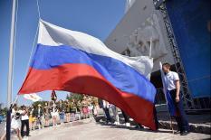 Уральская столица отпраздновала День флага России (фото)