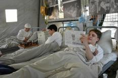 В центре Екатеринбурга воссоздали госпиталь времен Великой Отечественной войны (фото)
