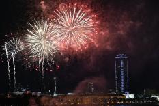 День Победы в Екатеринбурге завершился салютами в трех районах города (фото)