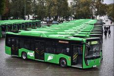 В Екатеринбурге 60 новых автобусов выйдут на самые востребованные маршруты (фото)
