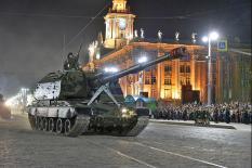 В уральской столице прошла генеральная репетиция Парада Победы (фото)