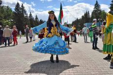 В столице Урала отметили Сабантуй (фото)