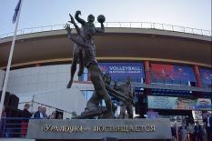 В Екатеринбурге установили памятник «Уралочке» (фото)