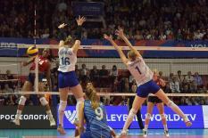 Сборная России уступила США в матче Лиги наций