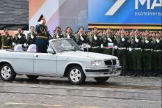 Екатеринбург отметил День Победы: «Бессмертный полк», «сирийская коробка» и концерт под открытым небом (фото)