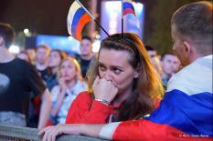 Россия покидает Чемпионат мира (фото)