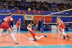Российские волейболистки потерпели сокрушительное поражение от сборной Голландии в Екатеринбурге (фото)