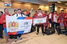 Трехкратные чемпионы Ночной хоккейной лиги вернулись в Екатеринбург