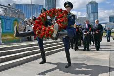 В Екатеринбурге почтили память защитников Отечества и жертв войны (фото)