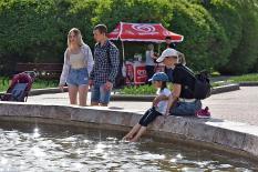 В конце недели на Урал придет жара до +34