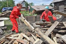 В трех свердловских муниципалитетах идет борьба с последствиями подтопления (фото)