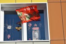 Окна памяти: в Екатеринбурге прошла акция «Бессмертный полк»