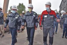 Жители Каменска-Уральского рассказали губернатору о проблемах города (фото)