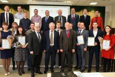 В Екатеринбурге наградили молодых уральских ученых (фото)