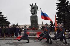 В Екатеринбурге почтили память Уральского добровольческого танкового корпуса (фото)