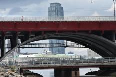 Макаровский мост в Екатеринбурге готовят к открытию (фото)