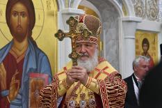 Патриарх Кирилл побывал на месте гибели членов царской семьи в Алапаевске (фото)