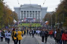 Кросс нации объединил губернатора, министра спорта и олимпийских чемпионов (фото)
