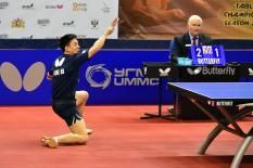 Клуб настольного тенниса УГМК вышел в полуфинал Лиги чемпионов (фото)