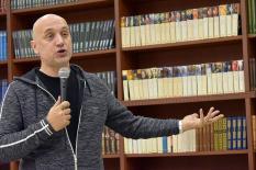 Писатель Захар Прилепин посетил Екатеринбург (фото)