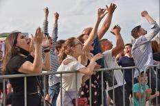 Уральские болельщики окунулись в атмосферу Чемпионата Европы по футболу (фото)