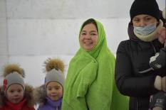 Освящение и обеззараживание воды: как проходит Крещение в Екатеринбурге (фото)