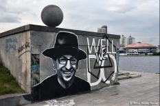 Вокалист Linkin Park оценил граффити уральских художников с погибшим лидером группы