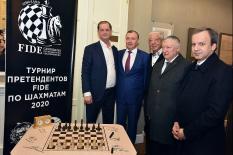 Екатеринбург впервые принимает турнир претендентов на мировую шахматную корону (фото)