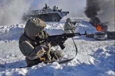 Военные ЦВО отбили атаку «террористов» в условиях химического заражения (фото)
