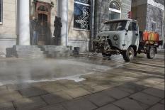 Тревожная весна 2020-го: как в Екатеринбурге проходит дезинфекция города (фото)