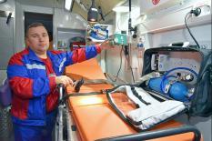 От сдачи крови до вертолета: в Екатеринбурге стартовала выставка «Здравоохранение Урала» (фото)
