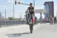 «Майская велопрогулка» в Екатеринбурге собрала тысячи участников (фото)