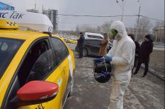 Роспотребнадзор проверил качество обработки уральских такси (фото)