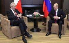 На встрече с Путиным Земан призвал к отмене санкций
